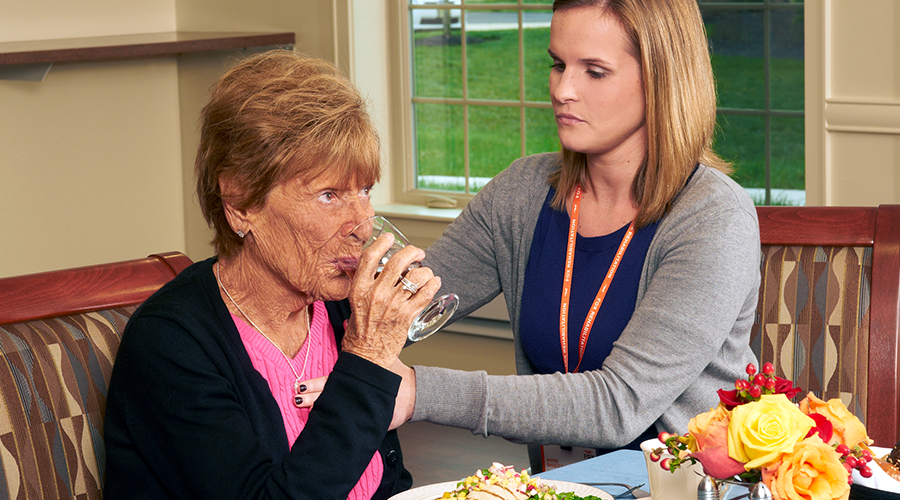 Dysphagia In The Older Adult: Speech-Language Pathology's Role